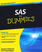 SAS for Dummies - available at Amazon